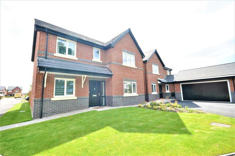 4 Bedrooms Detached House for sale in Riversleigh Way, Warton, Preston, Lancashire, PR4 1EX