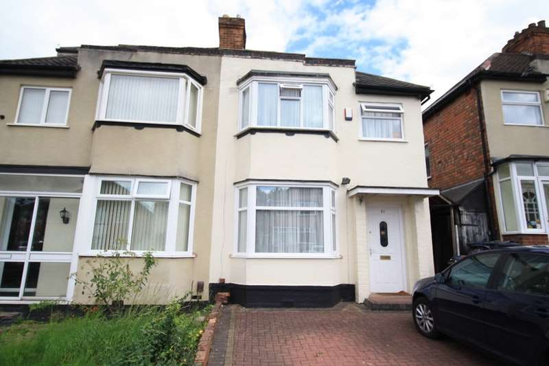 3 Bedrooms Semi Detached House for sale in Elmcroft Road, Birmingham, West Midlands, B26