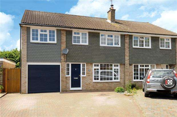 4 Bedrooms Semi Detached House for sale in Hag Hill Rise, Taplow, Maidenhead