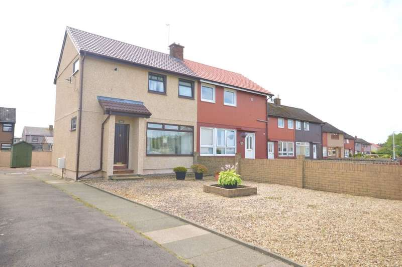 2 Bedrooms Semi Detached House for sale in Stewart Crescent, Lochgelly, KY5