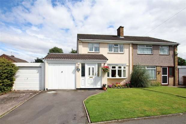 3 Bedrooms Semi Detached House for sale in Autumn Drive, Lichfield, Staffordshire