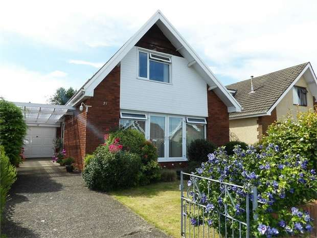 4 Bedrooms Detached Bungalow for sale in Hilland Drive, Bishopston, Swansea, West Glamorgan