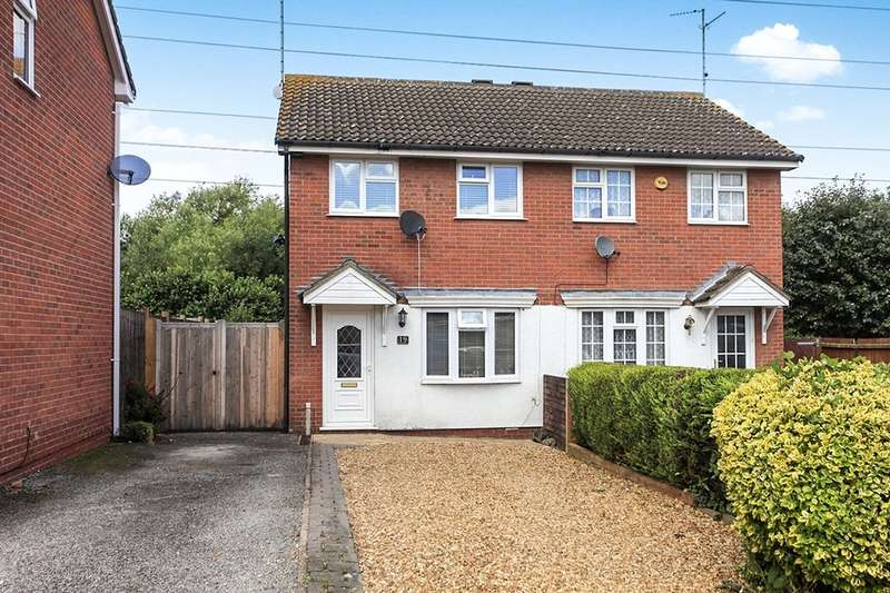 2 Bedrooms Semi Detached House for sale in Flamborough Close, Woodston, Peterborough, PE2