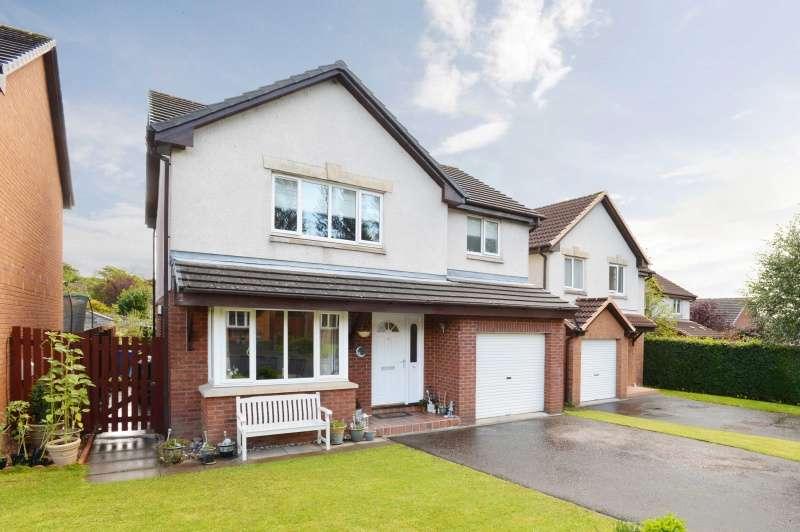 4 Bedrooms Detached House for sale in Columbia Avenue, Livingston, West Lothian, EH54 6PR