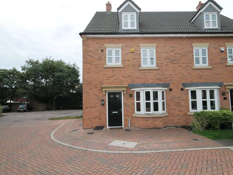 4 Bedrooms Semi Detached House for sale in Bowthorpe Close, Thurmaston