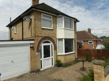 3 Bedrooms Detached House for sale in Sedgefield Drive, Thurnby, Leicester, Leicestershire