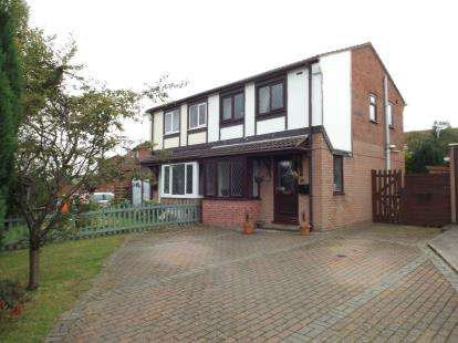 2 Bedrooms Semi Detached House for sale in Fron Uchaf, Colwyn Bay, Conwy, LL29