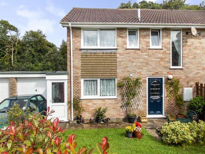 3 Bedrooms Semi Detached House for sale in Higher Woodside, St. Austell, Cornwall
