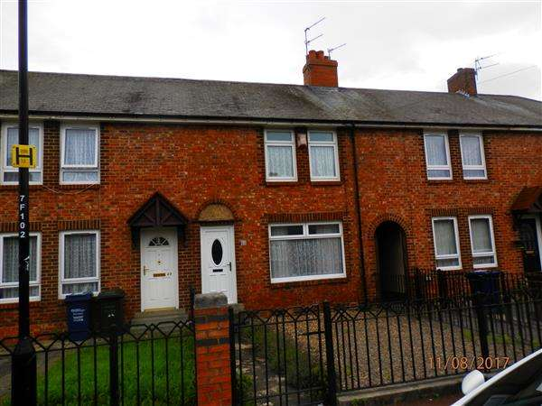 2 Bedrooms Terraced House for sale in Flodden Street, Newcastle upon Tyne