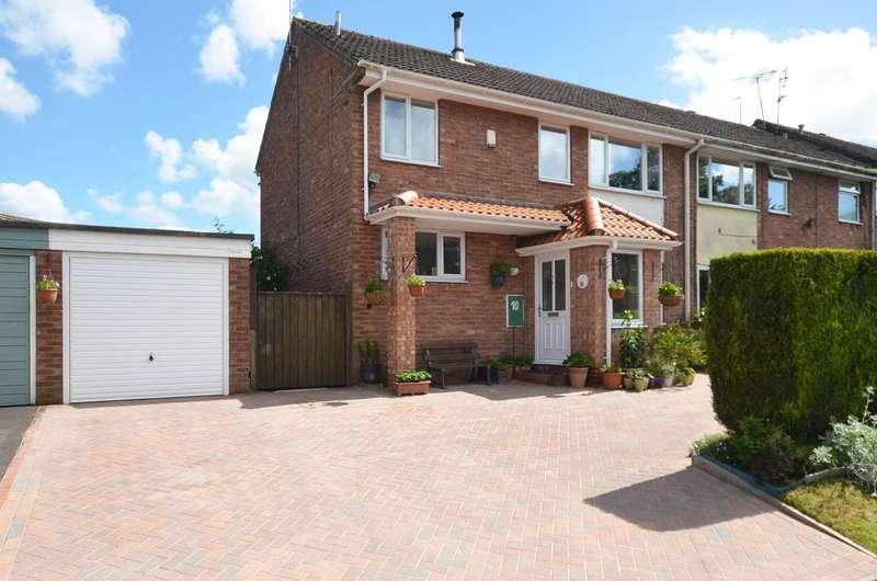 3 Bedrooms Semi Detached House for sale in Stallington Close, Stallington, ST11 9QF