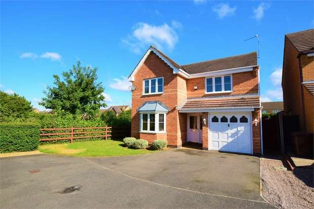 4 Bedrooms Detached House for sale in Riverstone Way, NORTHAMPTON