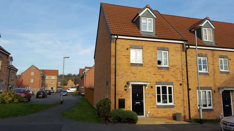4 Bedrooms Town House for sale in Mill Lane, Huthwaite, Nottinghamshire, NG17