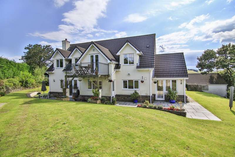 4 Bedrooms Detached House for sale in Ffordd Las, Abertridwr, Caerphilly