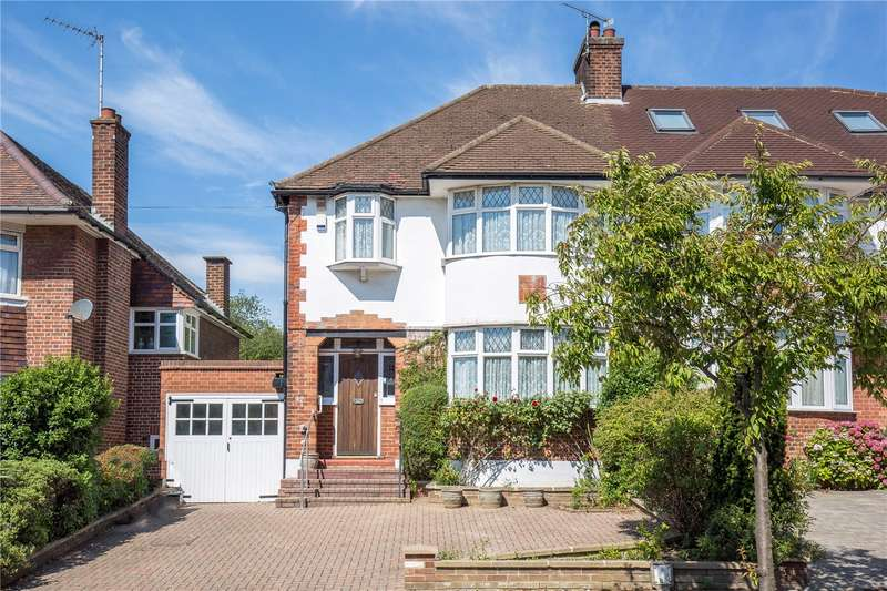 3 Bedrooms Semi Detached House for sale in Longland Drive, Whetstone, London, N20