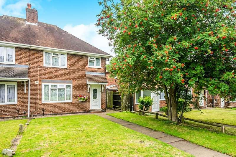 3 Bedrooms Semi Detached House for sale in Thrushel Walk, Wolverhampton, WV11