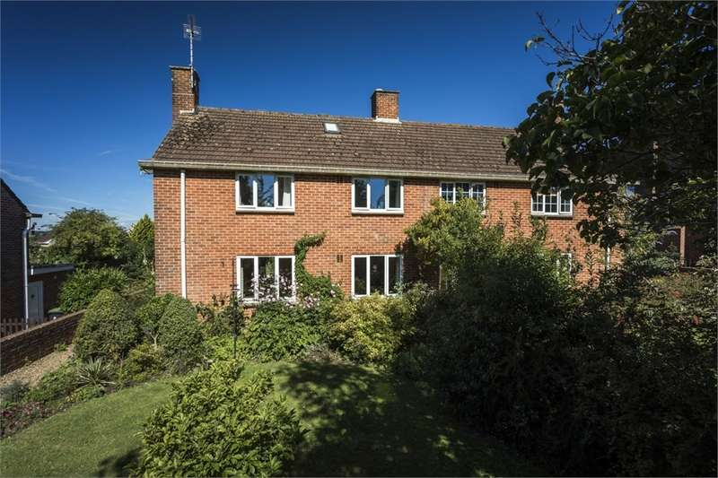 4 Bedrooms Semi Detached House for sale in Peel Close, BLANDFORD FORUM, Dorset