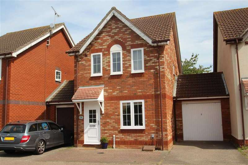 3 Bedrooms Link Detached House for sale in Wilding Drive, Grange Farm, Kesgrave, Ipswich