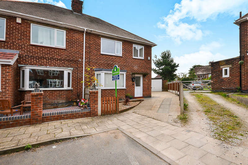 3 Bedrooms Semi Detached House for sale in Elizabeth Close, Hucknall, Nottingham, NG15