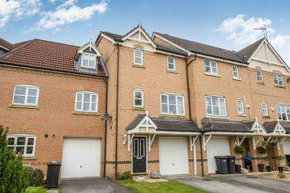 3 Bedrooms Terraced House for sale in Rosewood Crescent, Harrogate, North Yorkshire, Harrogate