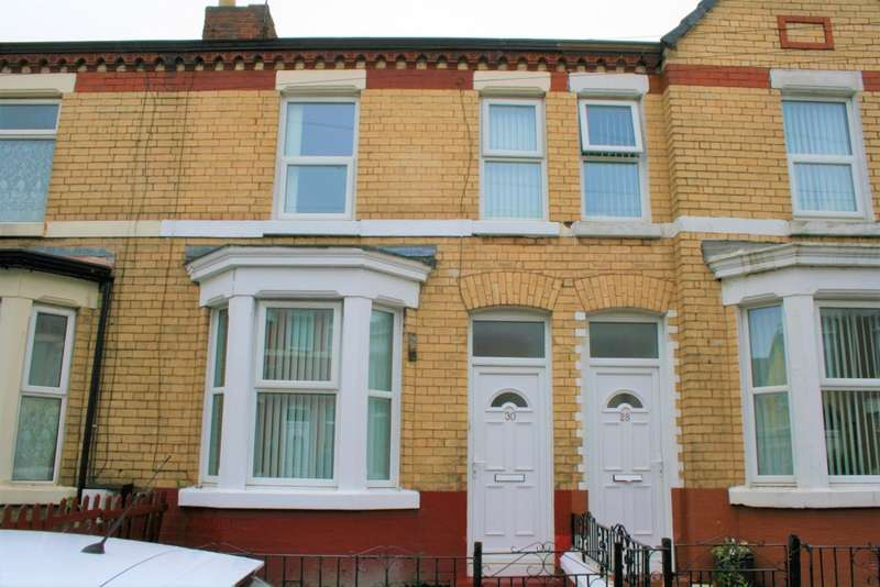 2 Bedrooms Terraced House for sale in Lucerne Road, Wallasey, CH44