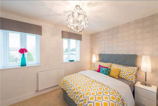3 Bedrooms Detached House for sale in Plot 149 The Webster, Glan Llyn, Llanwenr, Newport, NP19 4QZ