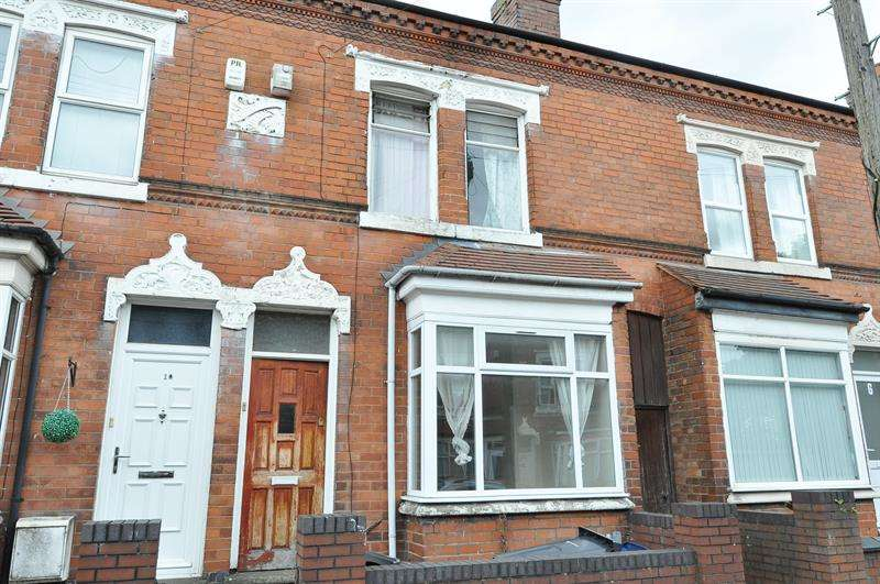 4 Bedrooms Terraced House for sale in Fashoda Road, Selly Park, Birmingham