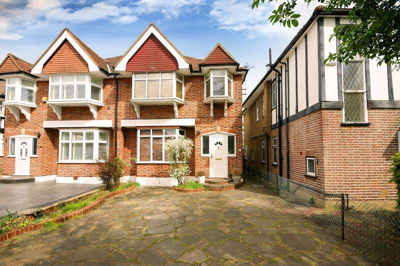 4 Bedrooms Semi Detached House for sale in Grimsdyke Road, Pinner