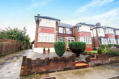 3 Bedrooms Semi Detached House for sale in South Lodge Drive, London, .., .