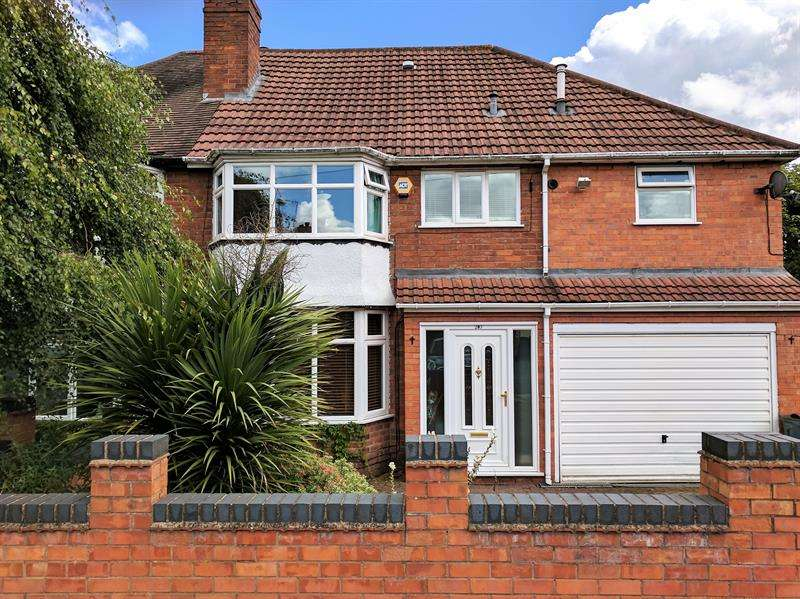 4 Bedrooms Semi Detached House for sale in Leach Green Lane, Rednal, Birmingham