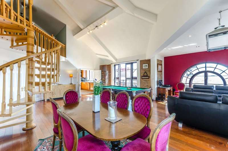 3 Bedrooms Penthouse Flat for sale in Telfords Yard, Wapping, E1W
