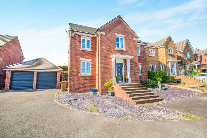 5 Bedrooms Detached House for sale in Heol Cwarrel Clark, Caerphilly