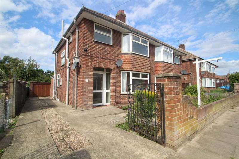 3 Bedrooms Semi Detached House for sale in Goring Road, Ipswich