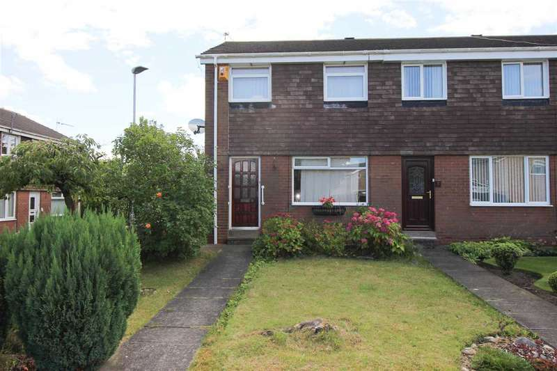 3 Bedrooms Terraced House for sale in Olney Close, Eastfield Green, Cramlington