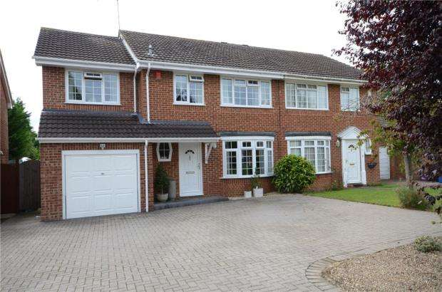 4 Bedrooms Semi Detached House for sale in Ostler Gate, Maidenhead, Berkshire