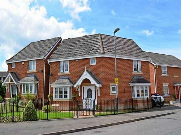 3 Bedrooms Detached House for sale in Lilleburne Drive, Nuneaton, Warwickshire