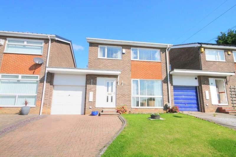 3 Bedrooms Detached House for sale in Ellington Close, West Denton Park, Newcastle Upon Tyne, NE15