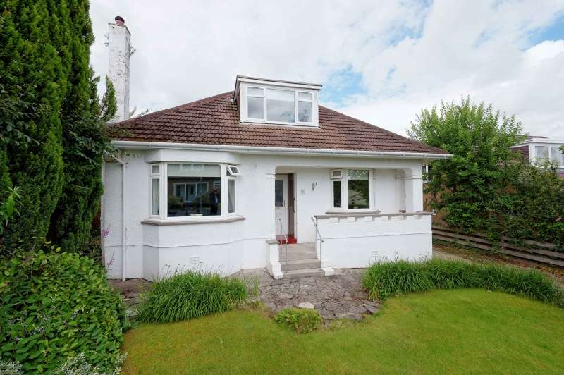 3 Bedrooms Bungalow for sale in Kelvin Crescent, Bearsden, Glasgow, G61 1BT