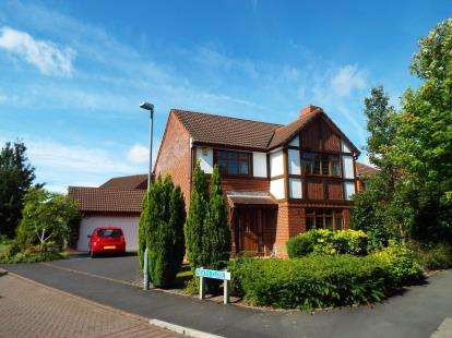 4 Bedrooms Detached House for sale in Neath Close, Walton-Le-Dale, Preston, Lancashire