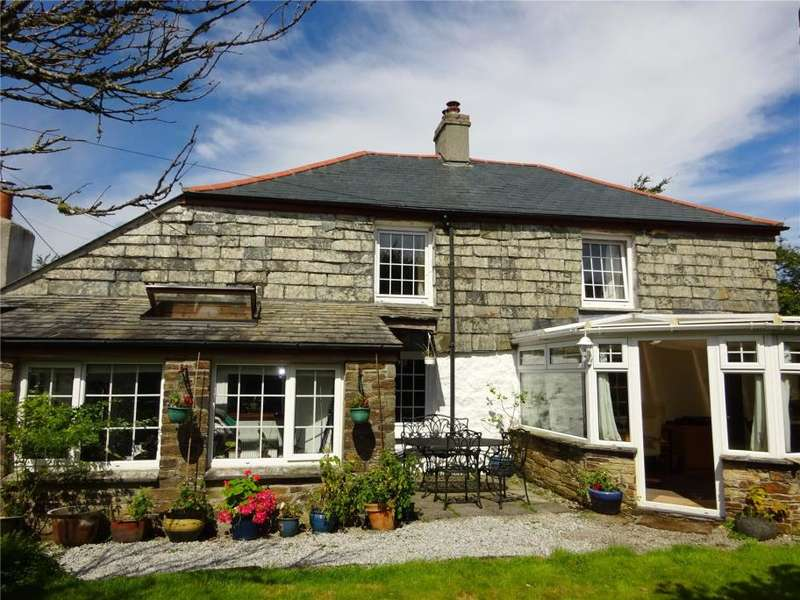 3 Bedrooms Detached House for sale in Minions, Nr Liskeard, Cornwall