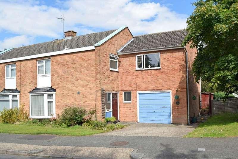 4 Bedrooms Semi Detached House for sale in Upper Park, Harlow, Essex, CM20 1TW