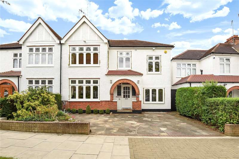 4 Bedrooms Semi Detached House for sale in Barrow Point Avenue, Pinner, Middlesex, HA5