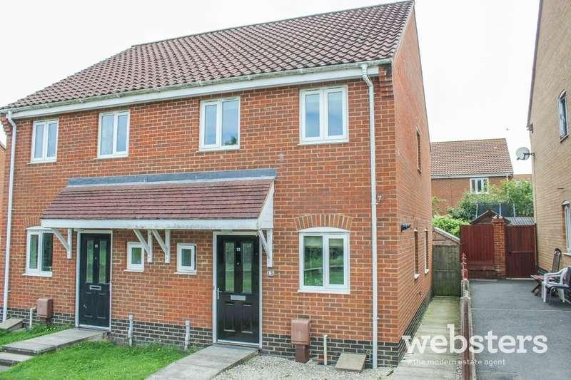 2 Bedrooms Semi Detached House for sale in Elderflower Mews, Norwich NR5
