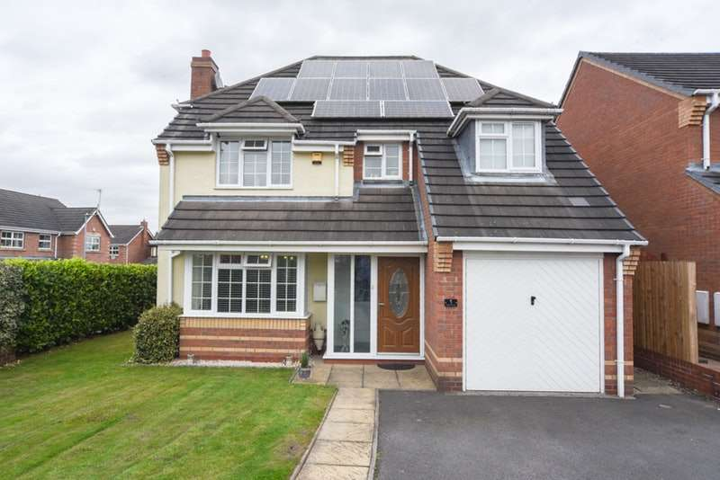 4 Bedrooms Detached House for sale in Taylor close, Moira, Derbyshire, DE12