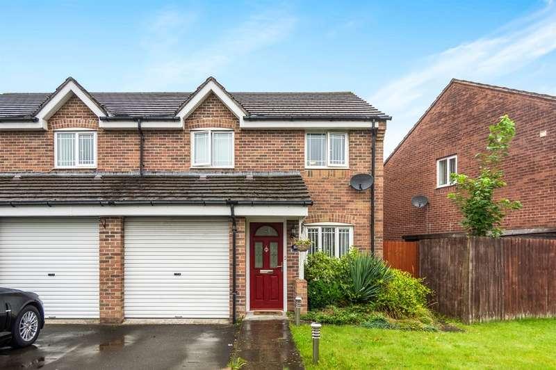 3 Bedrooms Semi Detached House for sale in Herbert Thomas Way, Birchgrove, Swansea