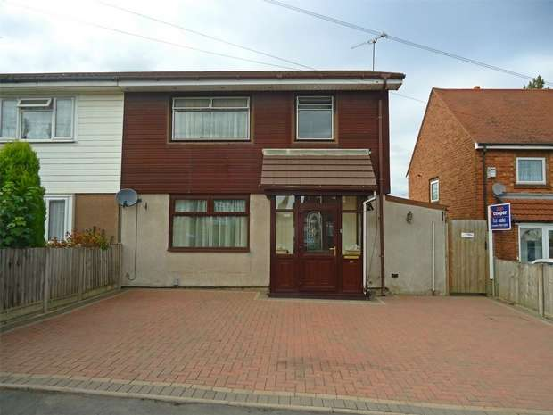 3 Bedrooms Semi Detached House for sale in Tulliver Road, Nuneaton, Warwickshire