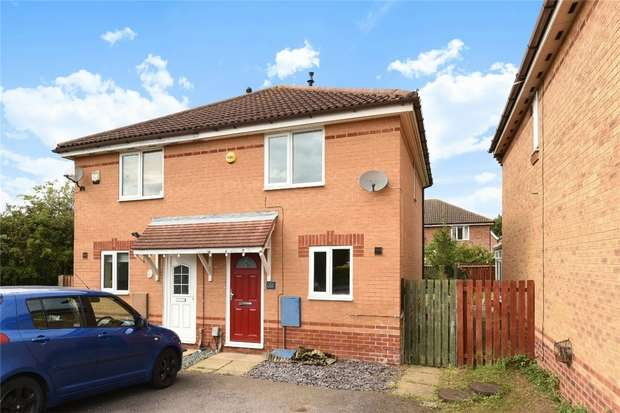 2 Bedrooms Semi Detached House for sale in Marigold Way, Bedford