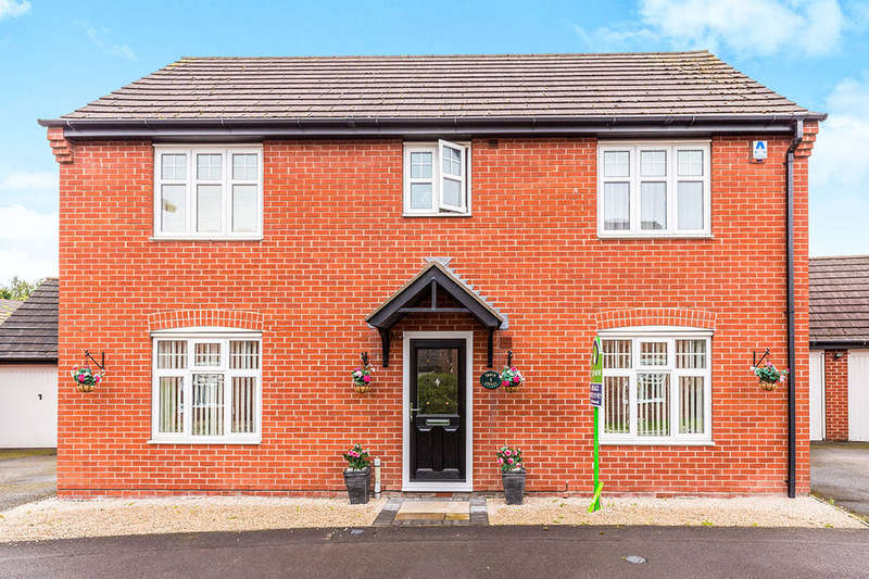 4 Bedrooms Detached House for sale in Tooth Street, Woodville, Swadlincote, DE11