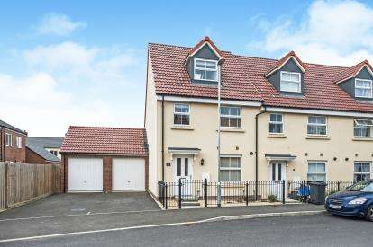 3 Bedrooms End Of Terrace House for sale in Lossiemouth Road, Kingsway, Quedgeley, Gloucester