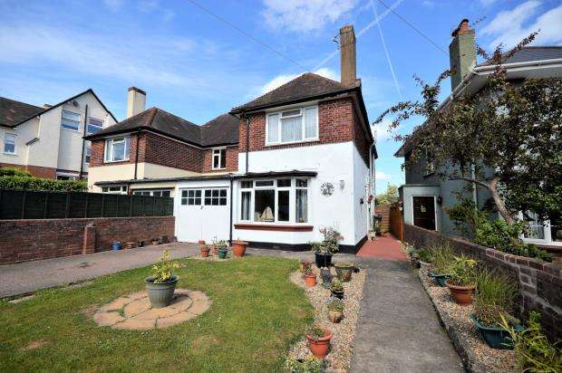 3 Bedrooms Semi Detached House for sale in Phillipps Avenue, Exmouth, Devon