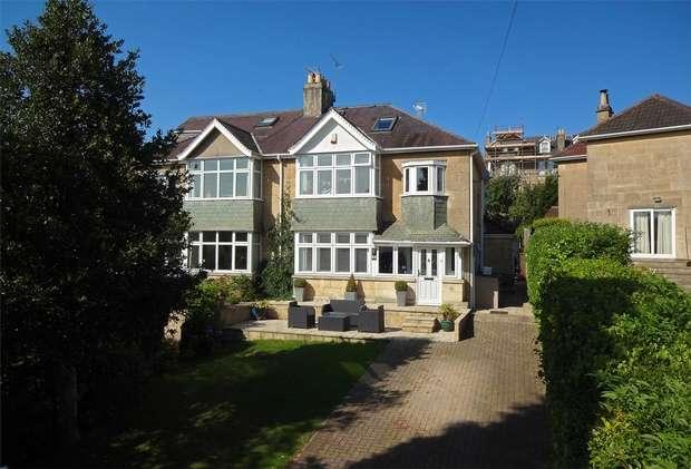 5 Bedrooms Semi Detached House for sale in 10 Apsley Road, Newbridge, Bath